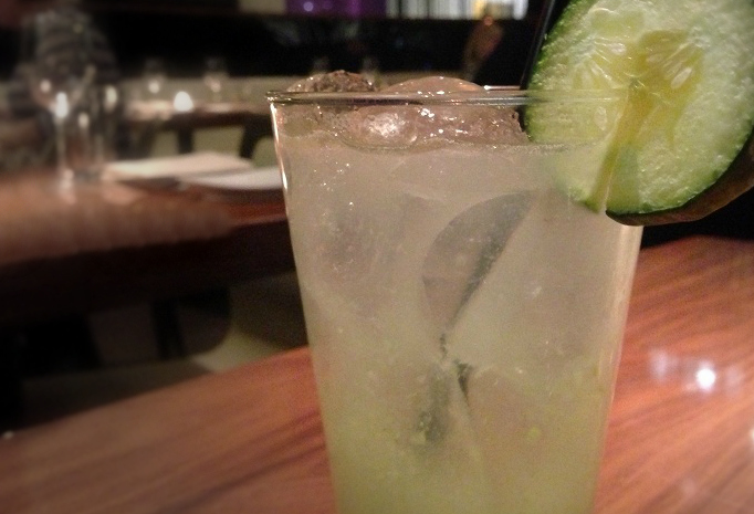 """Covent Garden"" Recollects Cucumber Spa Water, But With Gin. And Deliciousness."