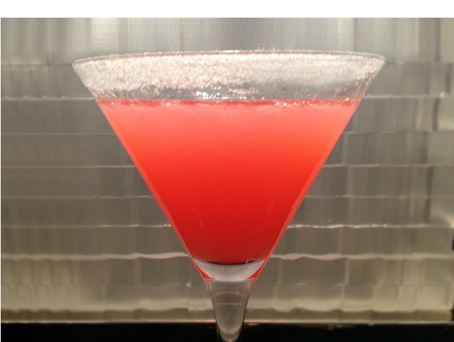 """The Hemingway"": Pink Grapefruit, Amped Up With Vodka"