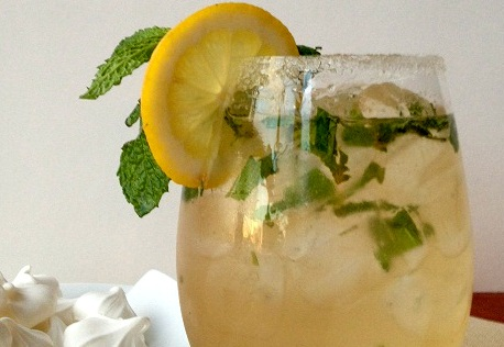 From The Drinklab: Lemon Ginger Splash