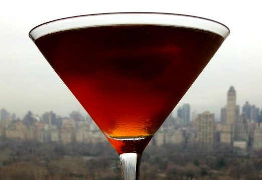 A Manhattan, High Above Manhattan