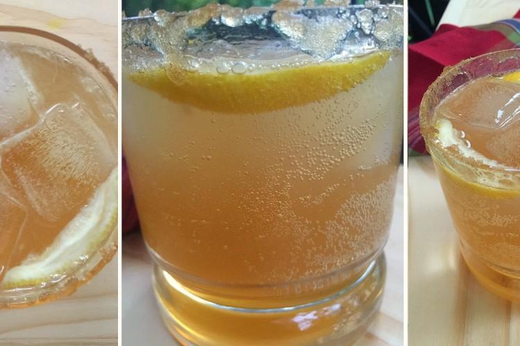 FALL FOR THIS: A Maple Bourbon Ginger Splash