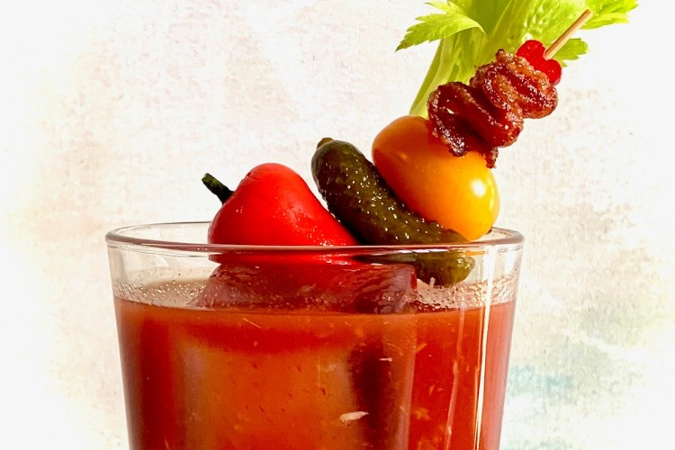 Make A Bloody Mary That's Just Spicy Enough But Will Keep You From Screaming